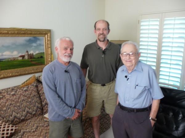 DR, Steve Grossman, Glen Dawson, July '09