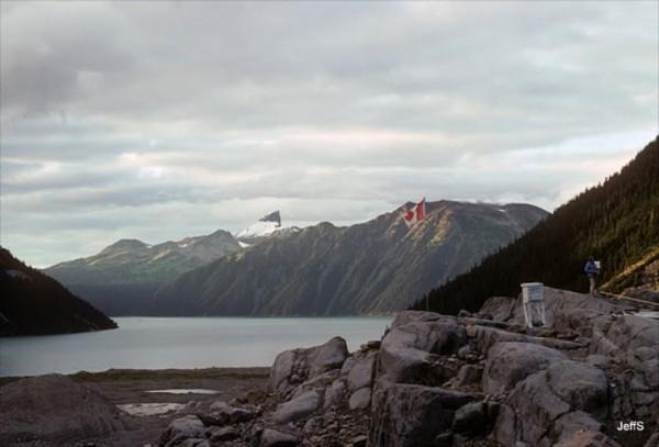 Sentinel Bay, Garabaldi Lake 1979