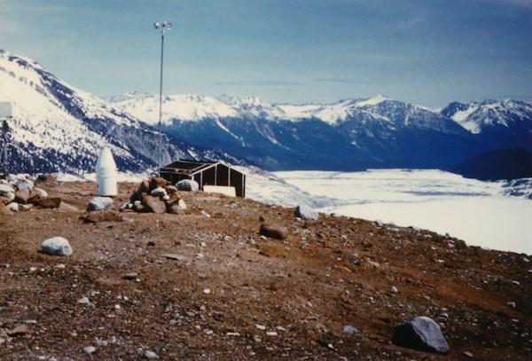 Another Glaciology hut - Bridge River Icecap