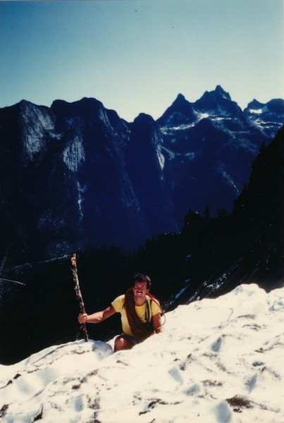Blair Griffiths @ Mt Slesse - killed months later in the Kumbu Icefall...