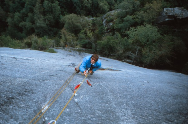 Nailing adventures on Wrist Twister - Squamish Chief