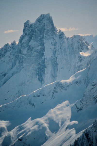 Mt Slesse - the place where Squamish climbers found out what they were...