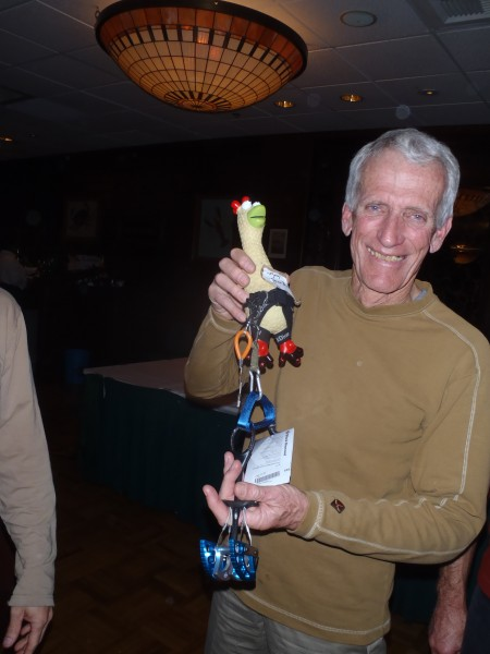 Gym Birdwall, Jim Donini & blue camalot.