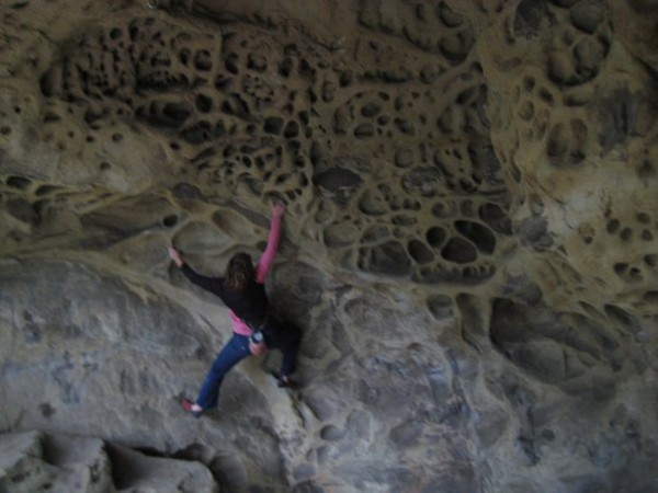 Some Cave traverse