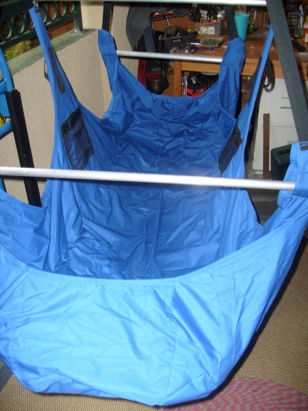 Deluxe Hammock I designed and had made in thailand, with beer coozies ...