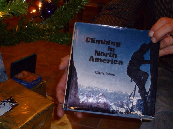 "1976 edition of Chris Jones ""Climbing in North America""."