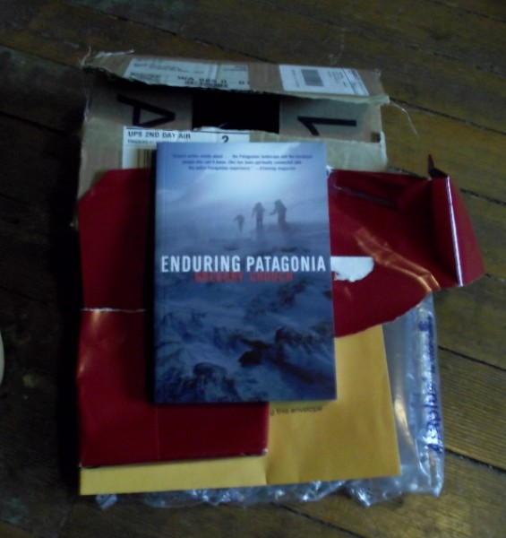 "Unwrapped. Gripping, lovely, great paced book. ""Enduring Patagonia"""