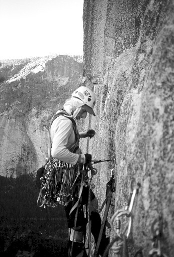 "John ""Jedi"" Fitzgerald, leading on The Prow."
