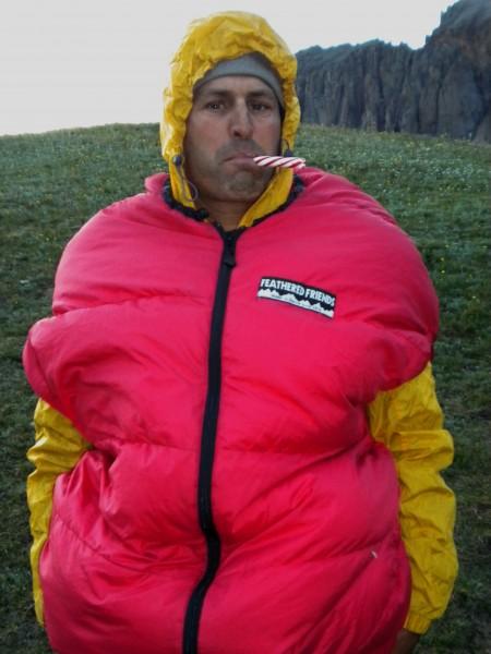 winter wren in jacket mode
