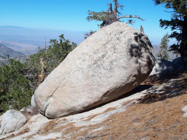Winston Peak boulder
