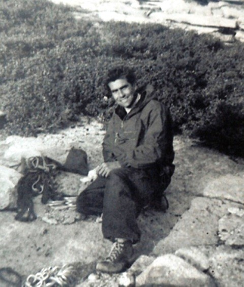 A boyish Harding 1958