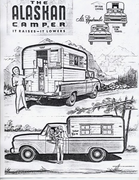From the manual of our 1964ish truck camper.