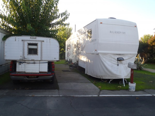 Our homes on wheels.