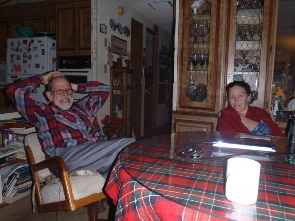 Dad, David Humphrey, and Ruth at Marilyn and Dad's home.
