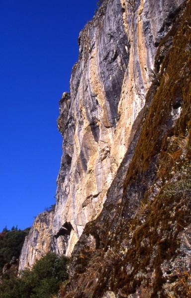 Limestone Bluffs, Cecilville, CA.