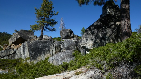 The Church area, just off rubicon trail