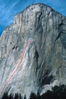 El Capitan - Grape Race 5.9 A2 or C3 - Yosemite Valley, California USA. Click to Enlarge