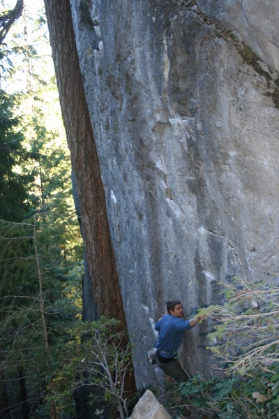 the first ascent of the Trinity Traverse (i love bouldering, even ...