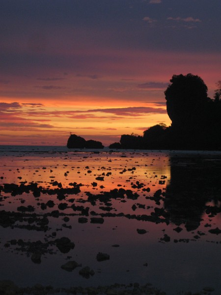 Tonsai Sunset (wish I could say this was recent!)