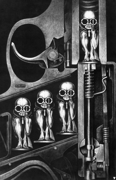 "H.R. Giger's ""Birth Machine"""