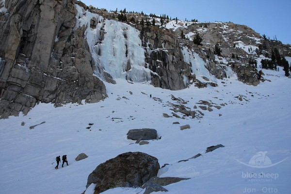 Main Wall & Chouinard Falls, Jan 29 2011