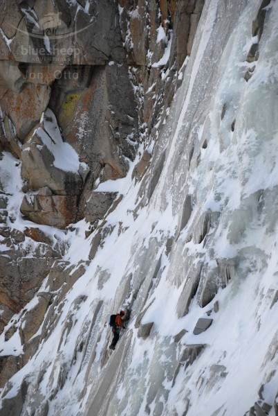 Jed Porter on Bard Harington Route, Jan 31 2011