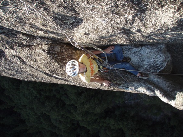 rappel from pitch 5