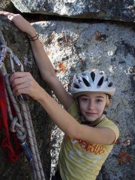 reaching the summit anchor