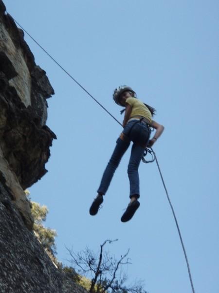 she always likes the steep stuff!