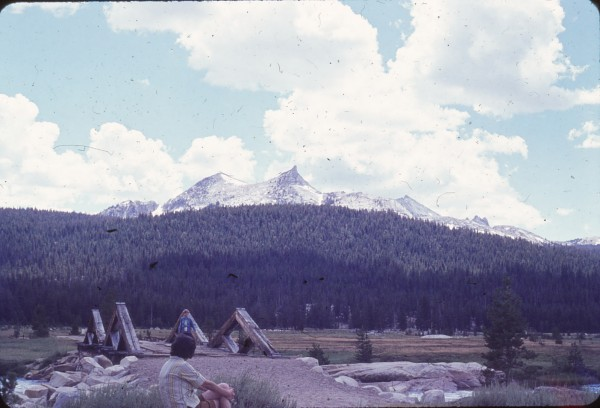 The old Soda Springs bridge