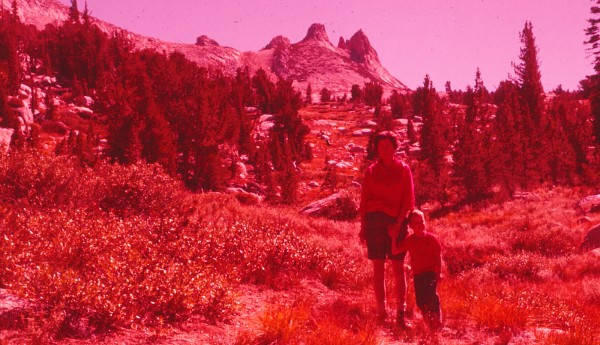 1st hike to Budd Lake, 1962