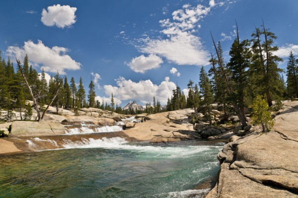 Tuolumne River below the Meadows
