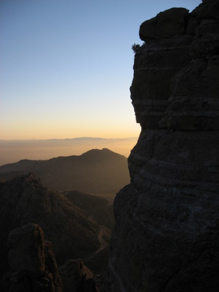 Sunset Mt. Lemmon.