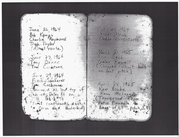 Coonyard Register-courtesy Mountain Record Collection, Bancroft Librar...