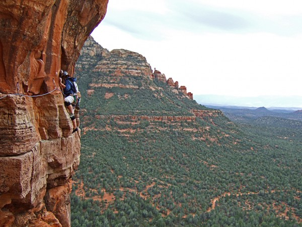 Leading the wild pitch 2 on Mars Attacks in Sedona, AZ
