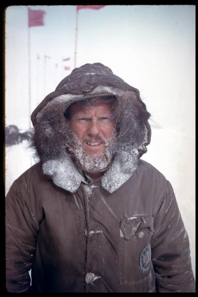 My dad in Antarctica 1962