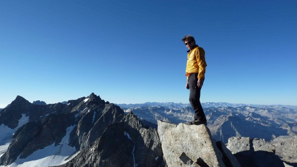 Style matters. Peter in the Palisade Sierras.