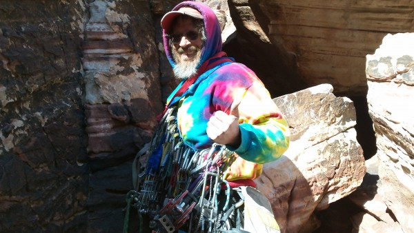 Mr. Cosmic in tye dye glory!