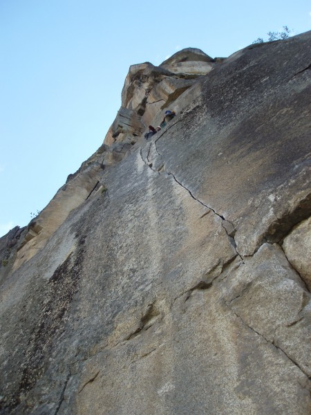 Finger Crack Crux!