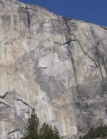 El Capitan - The Secret Passage 5.13c - Yosemite Valley, California USA. Click to Enlarge