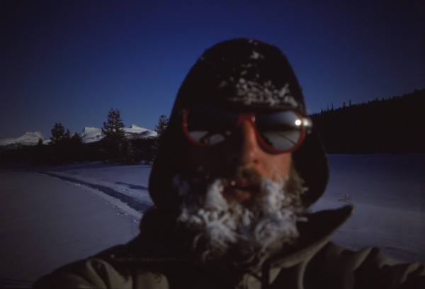self portrait.solo trip, from yosemite to mono lake to visit friends a...