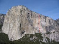 El Capitan - Aurora A4 5.7 - Yosemite Valley, California USA. Click to Enlarge