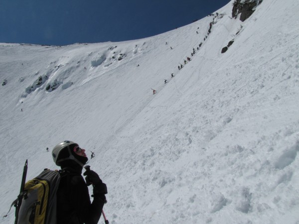Tuckerman Ravine Headwall