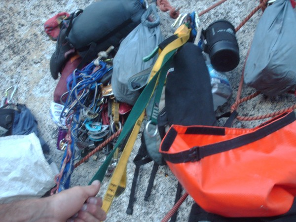 Standard issue belay clusterf*ck