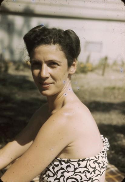 Marjorie Stern Boche, about 1945.