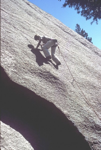 "Anne Carrier on ""Topographical Oceans,"" 5.9+ firat pitch."