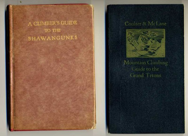 Two of most Classic Guides  <br/>  <br/> Art Gran's 1964 Shawangunks guide and...