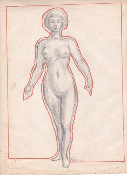 Undated drawing.