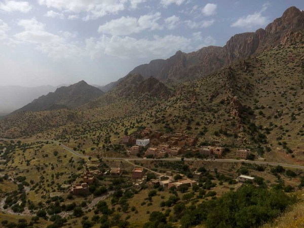the pass leading to tafraoute