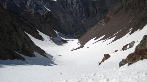 More loose snow and avi debris. (June 8, 2011)